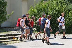 Wanderer in Furth