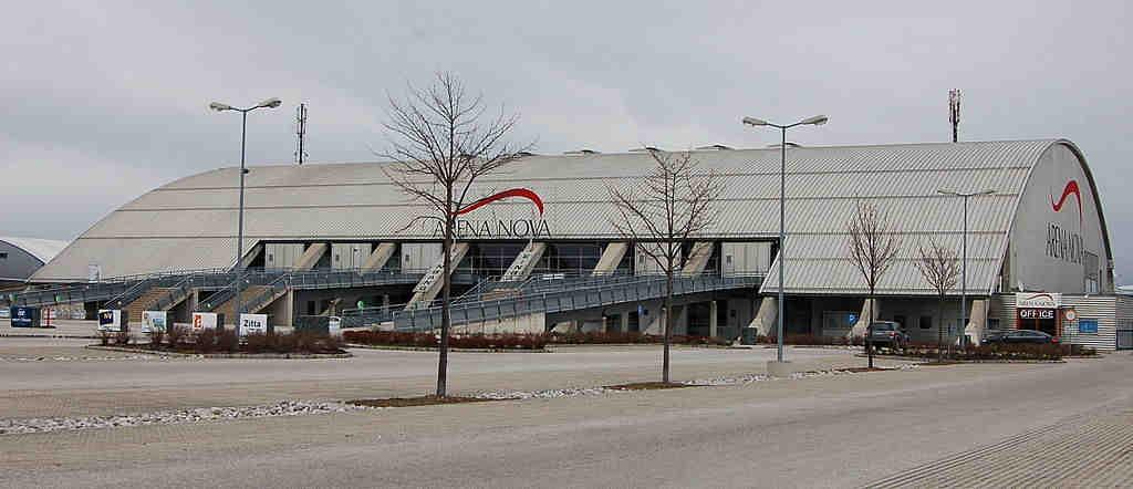 Veranstaltungshalle Arena Nova in Wiener Neustadt