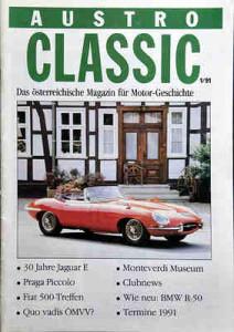 "Das erste ""Oldtimer-Heftl"" im Jänner 1991 | ©: Austro Classic"