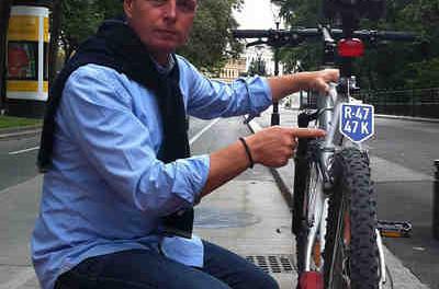 Fahrrad Nummerntaferl   ©: Luke undToni Mahdalik