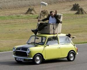 Mr. Bean AUF seinem Mini - lustiger als die Polizei erlaubt!   ©: Nathan Wong