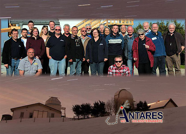 DDas Team von ANTARES zieht Bilanz 2015 | ©: ANTARES - Thomas Gradl, ua., Montage: zib