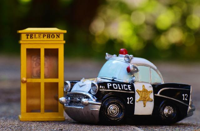 Die Polizei ist trotz weniger Posten auch gleich da...