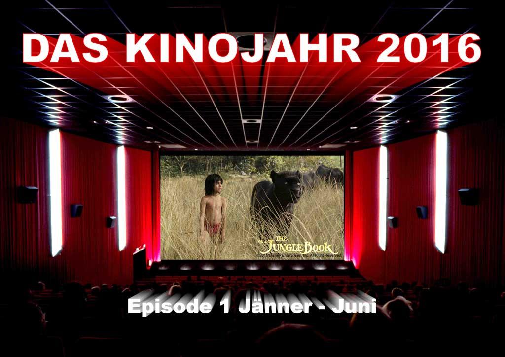 Eine Auswahl an sehenswerten Filmen, welche im ersten Halbjahr 2016 in unseren Kinos starten | © zib / Disney / creativebits