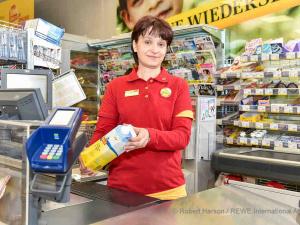 Die ehemalige Zielpunkt Marktmanagerin Sandra Svzetits aus Güssing hat bereits in den letzten Monaten einen neuen Arbeitsplatz bei BILLA gefunden. | © Robert Harson / REWE International AG