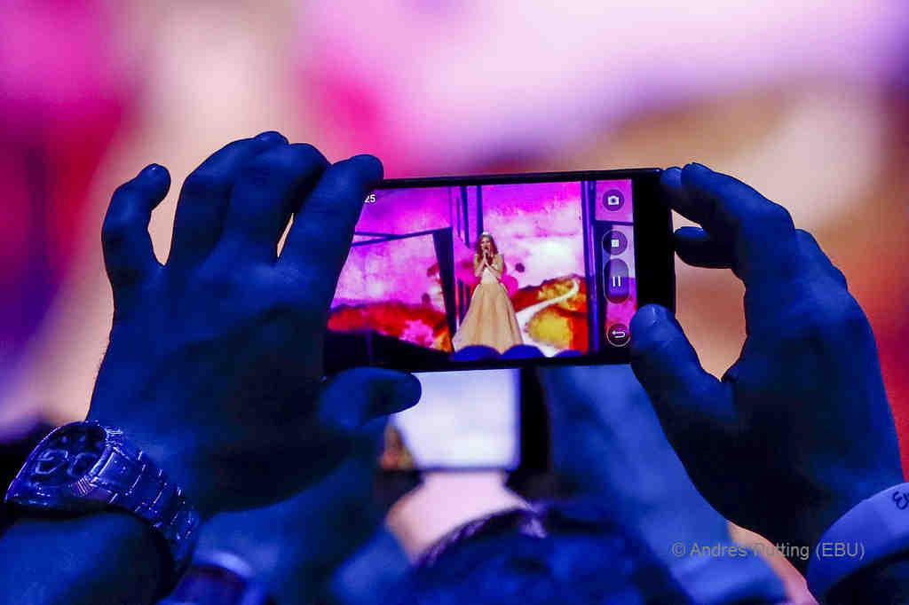 ZOE, der Star des Abends - vor allem beim Publikum | © Andres Putting (EBU)