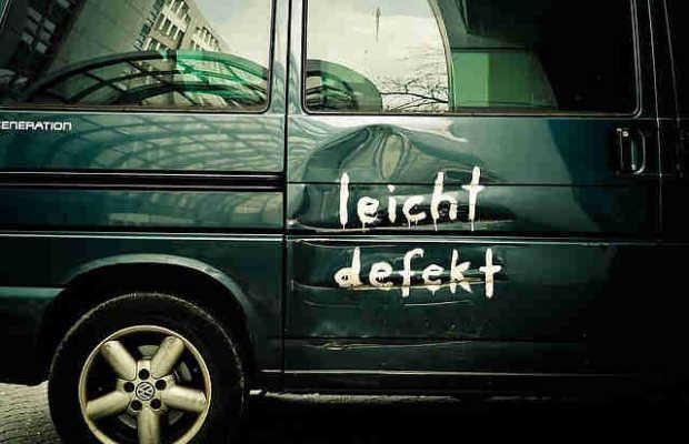 Auto defekt