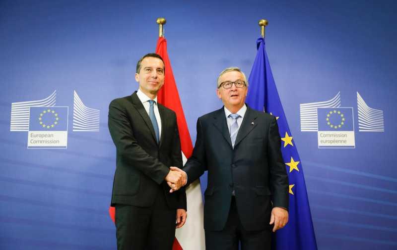 Bundeskanzler Kern in Brüssel