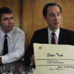 Zur ARTE-Sendung True Stories Star Trek: Nachgestellte Szene: Gene Roddenberry