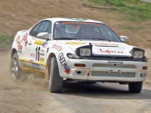 Solche Aufkleber müssen sehr viel aushalten - Triestingtal Rallye 2009 | © foto.selfpublic.at/Peter Schweinsteiger