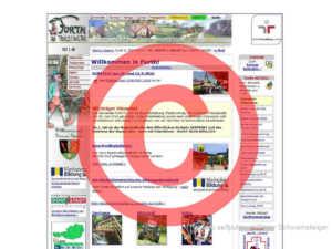 Website Furth Urheber Lizenz
