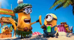 Bananaaa! Als plötzlich unzählige Minions verschwinden, ist es an Gru und Lucy, die Welt zu retten!   Foto: ORF/Universal