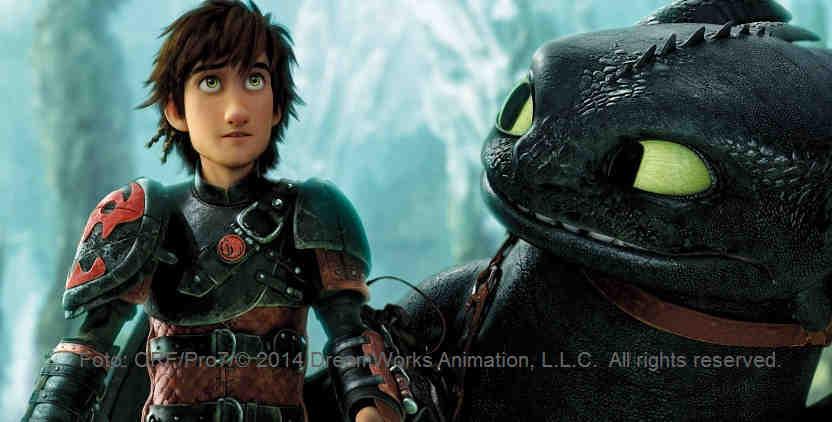 Was hat Herrchen nun wieder vor? - Drachenzähmen leicht gemacht 2 | Foto: ORF/Pro7/© 2014 DreamWorks Animation, L.L.C. All rights reserved.