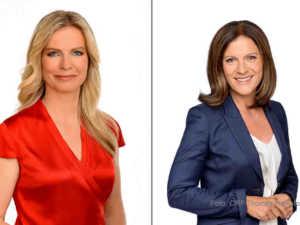 Claudia Reiterer und Ingrid Thurnher