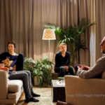 Die Familie beginnt, sich auf unterschiedliche Art und Weise mit dem Geschehenen auseinanderzusetzen: Peter Schneider (Michael Rom), Ursula Strauss (Paula Rom), Sophie Stockinger (Flora), Rainer Wöss (Zoller). | Foto: ORF/Allegro Film/Petro Domenigg