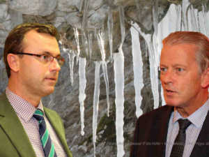 Eiszeit zwischen Norbert Hofer und Reinhold Mitterlehner