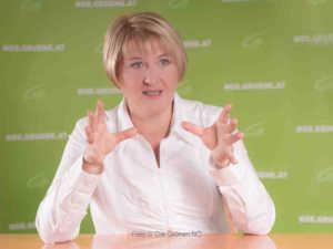 Helga Krismer, Klubobfrau der Grünen im NÖ Landtag | Foto © Die Grünen NÖ