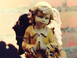 Engel betend