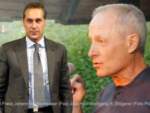 HC. Strache und Peter Pilz | Fotos © Franz Johann Morgenbesser (Strache) / Wolfgang H. Wögerer (Pilz)
