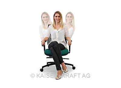 Schaukeln, Wackeln, Drehen und Rutschen sind ausdrücklich erlaubt, wenn Sie ergonomische Bürostühle nutzen | © KAISER+KRAFT AG