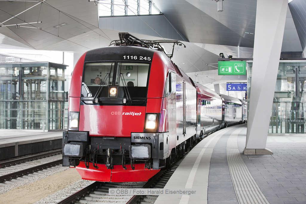 Railjet | © ÖBB / Foto: Harald Eisenberger