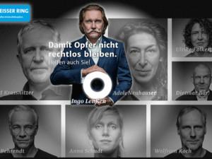 TV-Rechtsanwalt Ingo Lenßen wirbt nun auch für den WEISSEN RING
