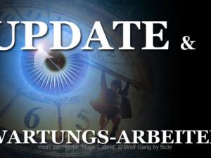 Update und Wartungsarbeiten auf Zeit im Blick