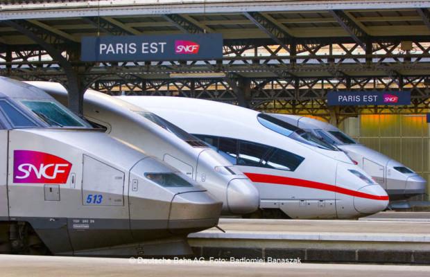 Alleo - ICE 3 MF und TGV