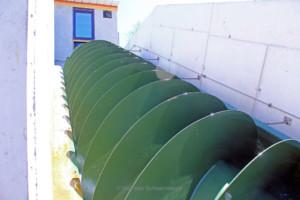 Wasserkraftschnecke