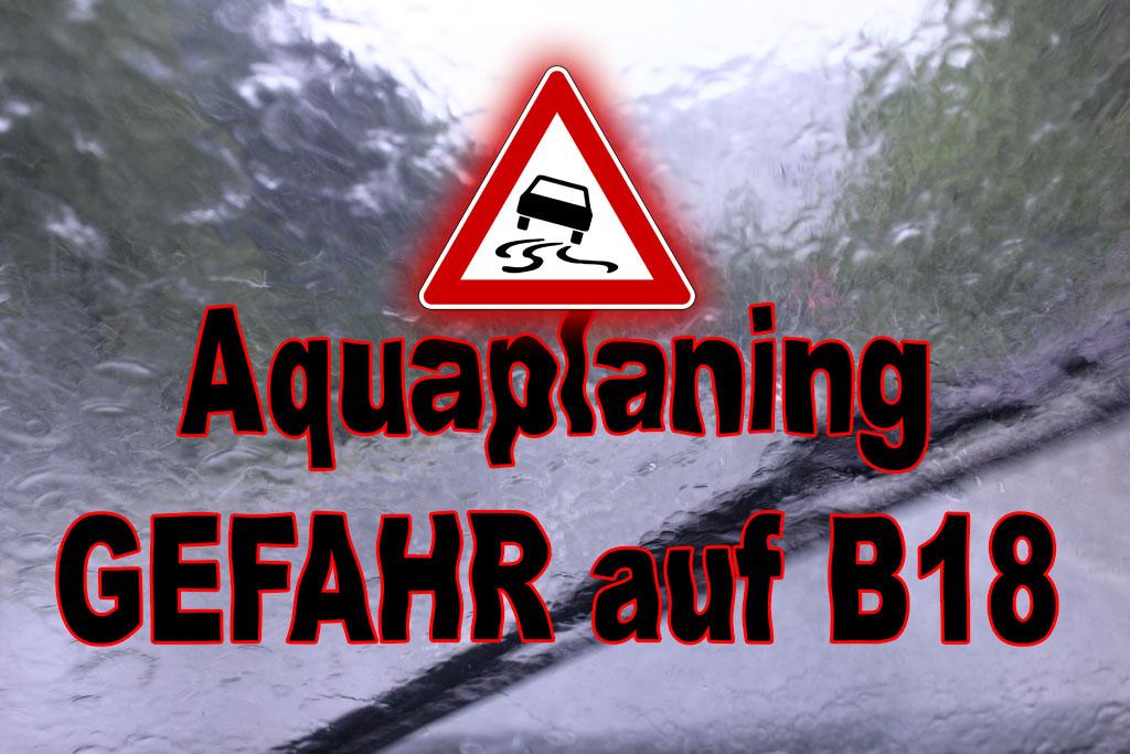 Aquaplaning B18