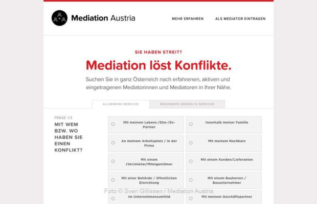 Suche nach MediatorInnen