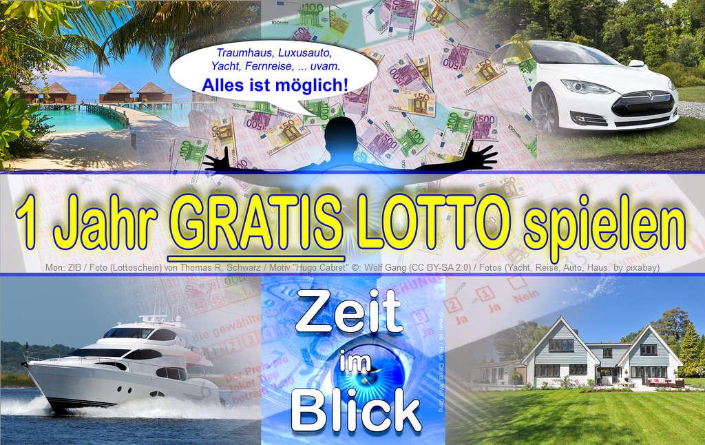 1 Jahr Lotto Teilnahme zu gewinnen!