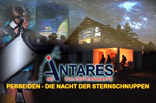 ANTARES Perseiden-Nacht