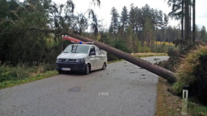EVN Sturm Einsätze 29.10.2017
