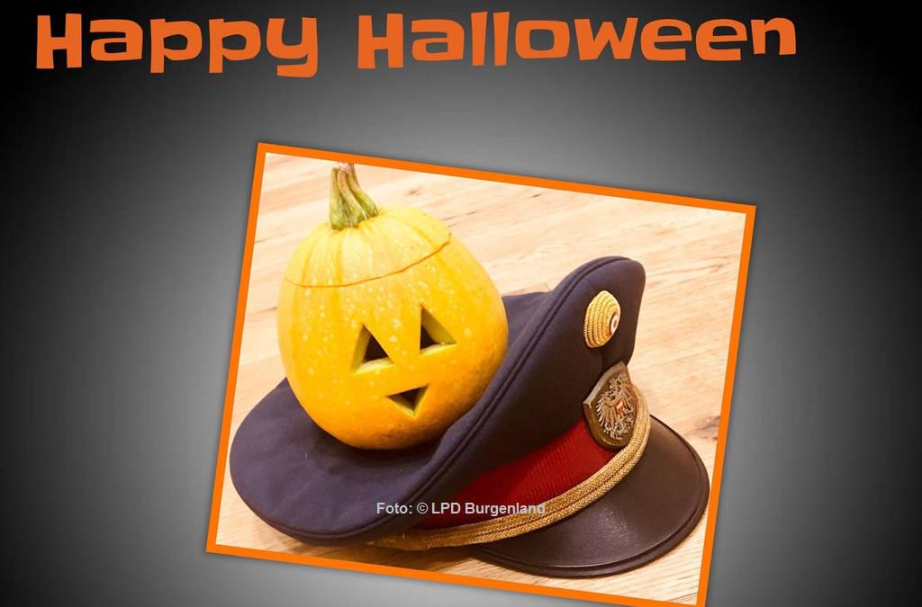 Empfehlungen der Polizei zu Halloween