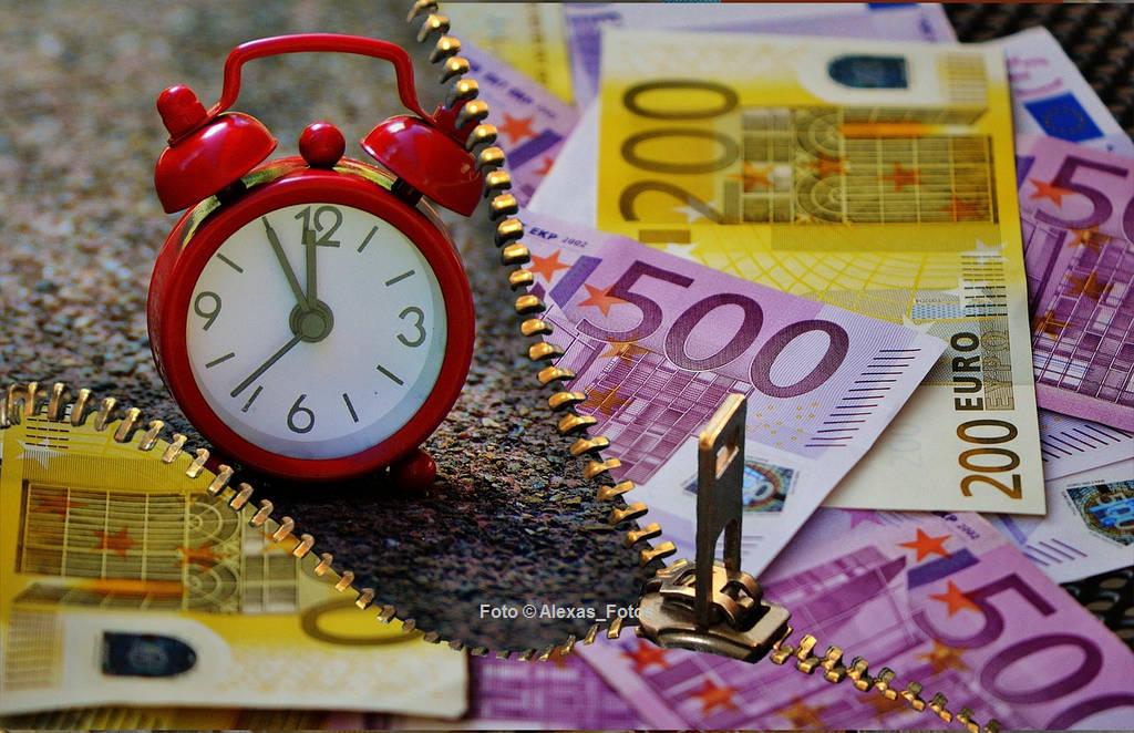 Zeit ist Geld - auch bei der Kreditvermittlung