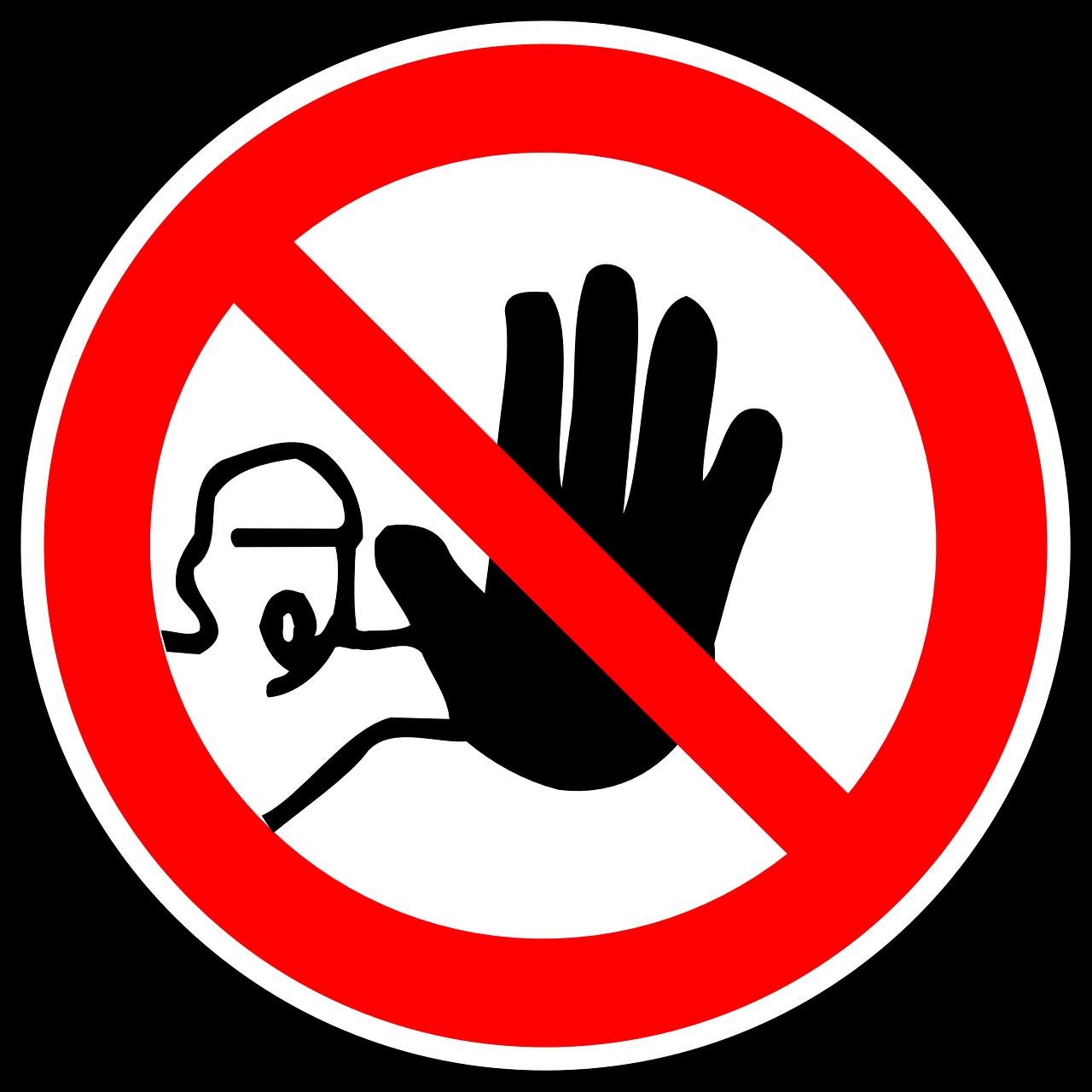 Verbots zeichen 1514547915