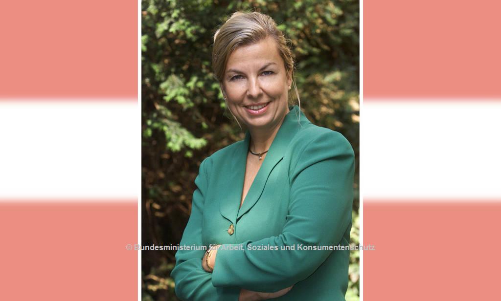 Sozial- und Gesundheitsministerin Beate Hartinger-Klein (FPÖ) | © Bundesministerium für Arbeit, Soziales und Konsumentenschutz