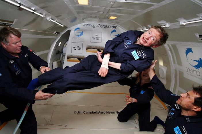 Stephen Hawking | © Foto von Jim Campbell/Aero-News Network