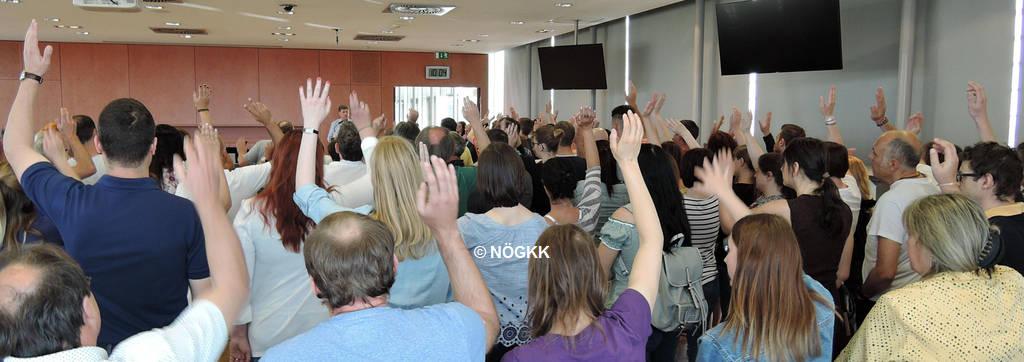 Informations-Betriebsversammlung bei der NÖGKK | © NÖGKK
