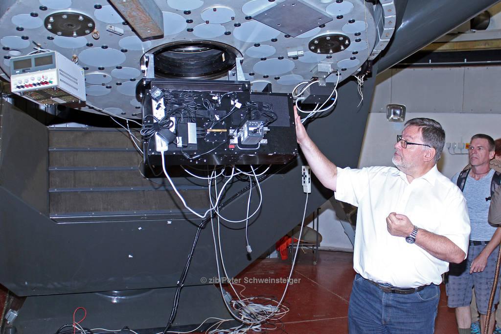 ANTARES Vereinsausflug 6.5.18, Leopold-Figl-Observatorium Schöpfl
