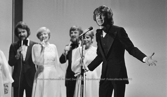 Jürgen Marcus beim Eurovision Song Contest 1976   © Foto von Nationaal Archief, Den Haag, Rijksfotoarchief