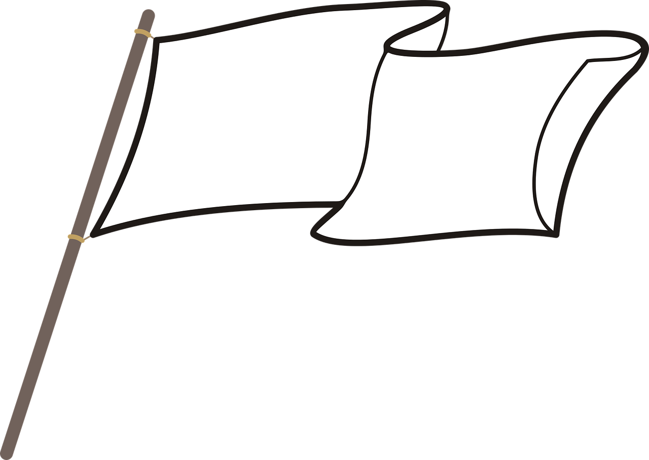 weiße Fahne 1539795194