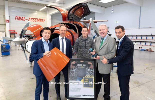 Mit Diamond Aircraft Zu Neuen Jobs Abheben Zeit Im Blick