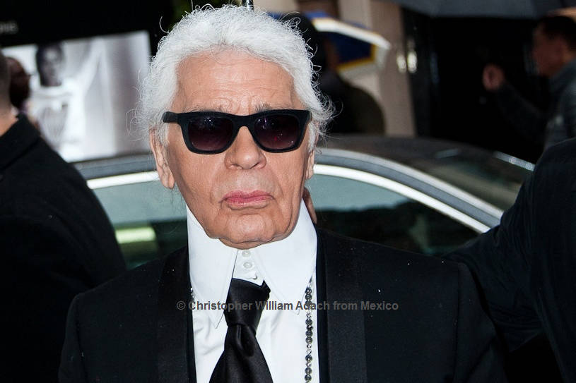 Karl Lagerfeld (1933 - 2019)   © Christopher William Adach from Mexico