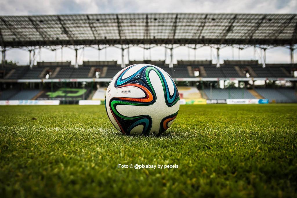 Fußball in Stadion
