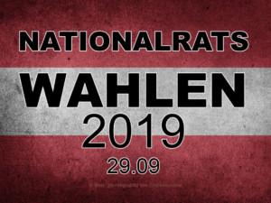 Nationalrats-Wahlen 2019 | © Mon: zib / Higrubild von Chickenonline