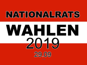 Nationalrats-Wahlen am 29.09.2019 | © zib