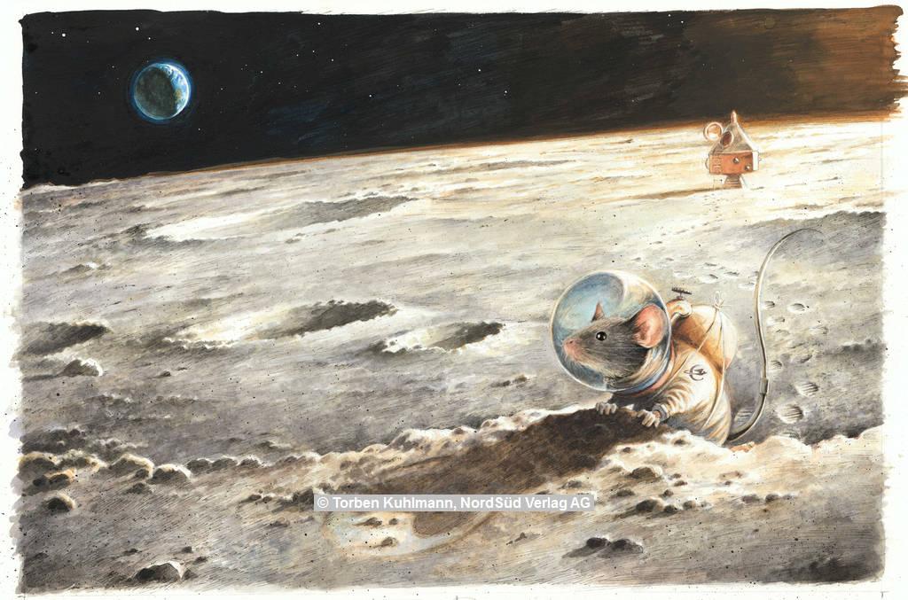 Torben Kuhlmann Erdbewohner auf Mond