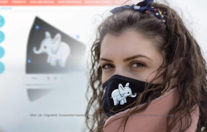 Atemschutzmaske bedrucken